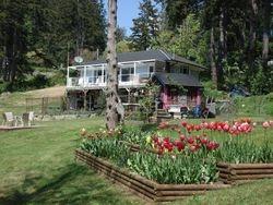 Garden- house view