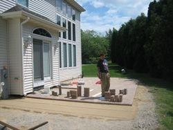 Brick Patio Installed