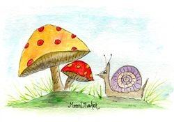 Woodland Mushroom 1