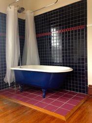 Claw foot tub/ shower