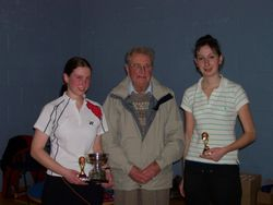 Handicap Tournament Ladies Doubles Winners