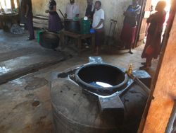 Water for the Secondary School kitchen