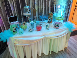 Candy buffet hire for google event in London , Google Deepmind Event