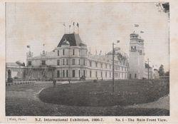 N.Z International Exhibition Hall Christchurch 1906-07