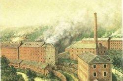 New Lanark Cotton Mills c 1900
