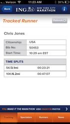 Mr. Jones NYC Marathon