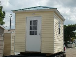 8x10 with hip and galvalume roof