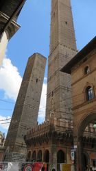 Towers of Asinelli and Garisenda in Bologna