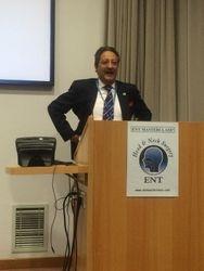 Prof Tony Narula, President, ENT-UK