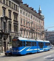 EU8N tram on Basztowa