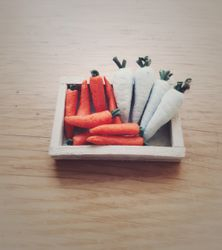 Carrots and daikon