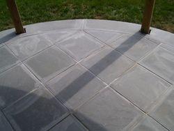bluestone radius porch