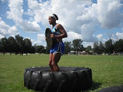 Weighted tire jumps 1