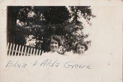 Edna and Alda Grove