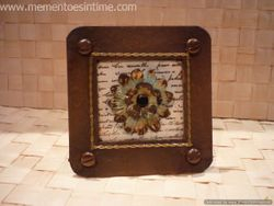 Rusted Photo Frame