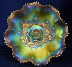 NORTHWOOD, Good Luck prototype bowl in marigold