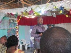 Apostle John Ebegbuna in Liberia
