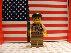 American 1st Infantry 1944