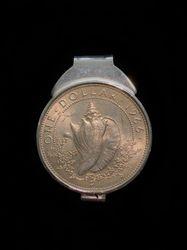 Bahamian Conch Dollar money clip