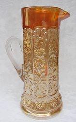Milady water pitcher, marigold