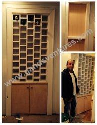 Door Wine Rack