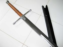 "Braveheart 52"" Scottish Claymore Battle Long Sword"