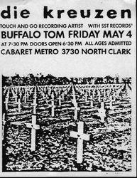 1990-05-04 Cabaret Metro, Chicago, IL