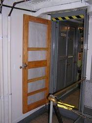 Screen Door Entrance to the Wardroom