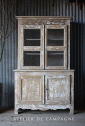 SOLD #26/223 FRENCH PINE HUTCH LYON SOLD