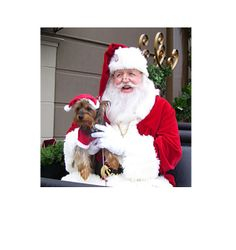 Rocky and Santa