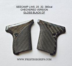 SEECAMP LWS CHECKERED BLACK