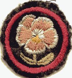 Pansy Patrol Badge
