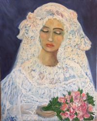 Bride With Closed Eyes
