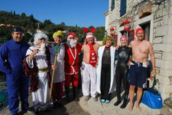 Boxing day fund raising swim in 2011
