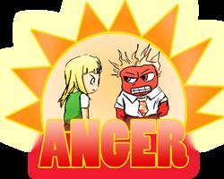 Haruka meets Anger (Mai-HiME X Inside Out)