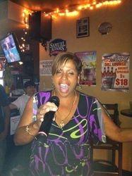 Mara literally wowing the crowd at 502 Bar Lounge Social Saturday Night Karaoke!