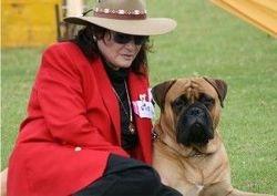 JEANNE with Amigo April 2008