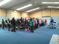 100 singers from Regional Choirs
