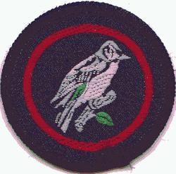 Chaffinch Patrol Badge