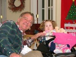 Grandpa and Meggy.