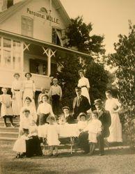 Turisthotellet (Pensionat Molle) 1911