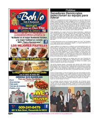 El Bohio Restaurant, New Jersey News