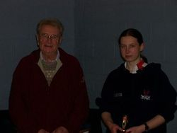 Handicap Tournament Ladies Singles Winner