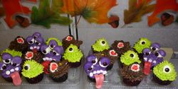 Warewolves and Monster Cupcakes