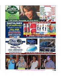 ANA SALAS SOLUTION SERVICES / DIAZ AUTO GLASS / PANTALONES COLOMBIANOS