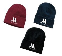 Ski Hats, Knitted. - 1 Size Fits All - 100% Acrylic