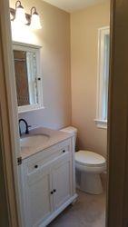 Bathroom after remodeling