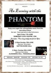 An evening with the Phantom