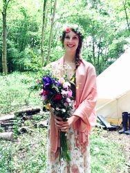 Plait and Hair flower Crown Suffolk