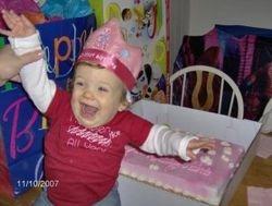 Olivia Herrick Age 1